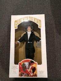 Gone with the wind 1980s doll Butler Ronkonkoma, 11779