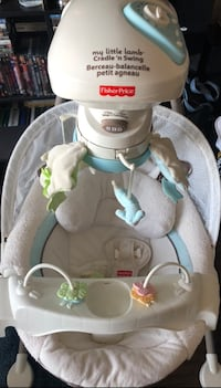 Fisher Price My Little Lamb Cradle N' Swing-PLS MSG ME!