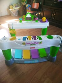 Fisher Price step'n play piano good shape Louisville, 40272