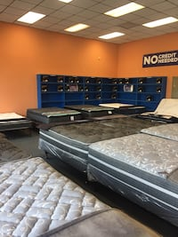 Weekend super sale going on now! New full-size mattress sets