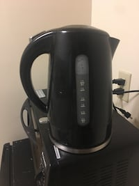 black electric kettle Kingston, K7L 2N9