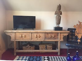 Dongbei, China Elm Sideboard