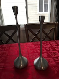 Partylite Elongated Taper Candle Holders Kingston
