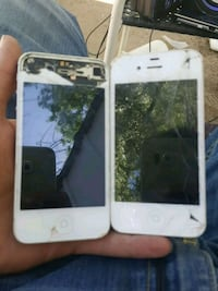 Two iPhone for both turn on as is for parts only Colorado Springs, 80918
