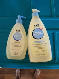 Baby wash and lotion