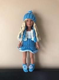 Blue outfit for American girl doll  Toronto, M9M 0A4