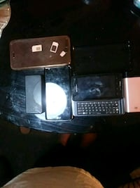 Two SIM cards two phones two cases two portables