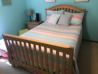 Full bed frame with headboard and footboard Virginia Beach, 23456