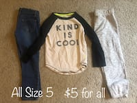 Girl's Clothes- Size 5 Chattanooga, 37415