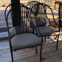 Metal frame padded chair Pikeville, 27863
