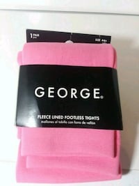 TIGHTS FLEECE LINED AND FOOTLESS BY GEORGE 20/PR