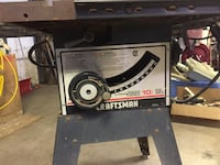 Gray craftsman table saw with extra drive null, N0E 1Y0