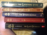 five Rick Riordian's The Lightning Thief book collection Welland, L3C 3V3