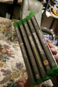 assorted Xbox One game cases Edmonton, T5A 4M1