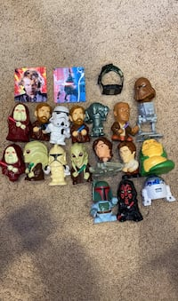 Old Star Wars toys
