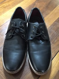 pair of black leather dress shoes Los Angeles
