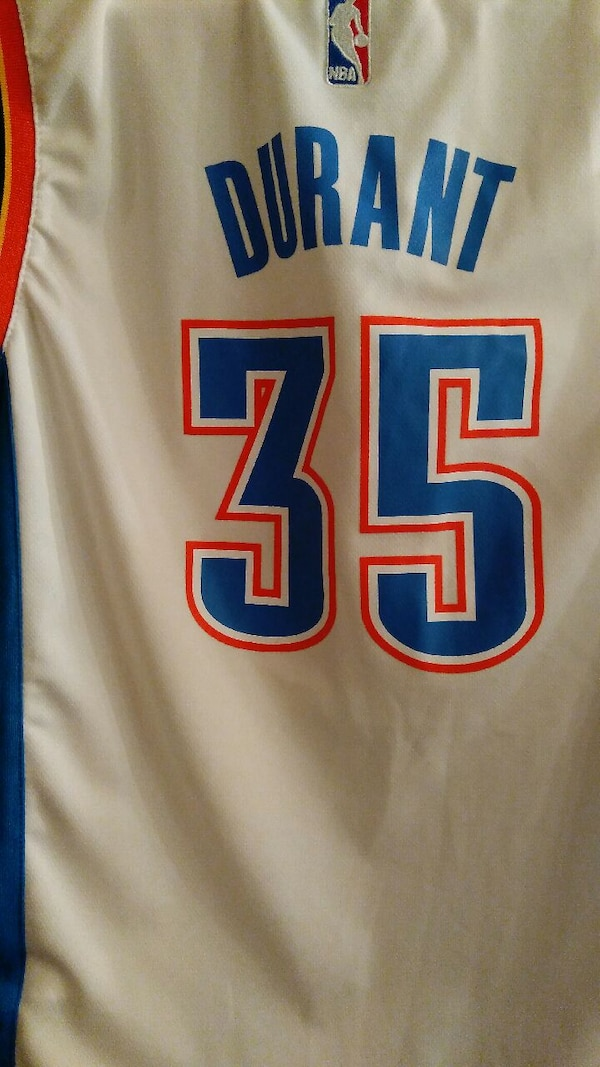 1017912164a Used Kevin Durant okc thunder jersey for sale in West Bloomfield ...