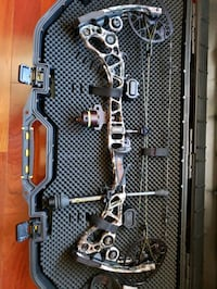 gray and black compound bow Chesapeake, 23322