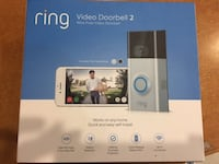 Ring Video Doorbell 2 Wireless WiFi 1080p iOS Android Night Vision Satin Nickel (PRICE NOT NE Queens