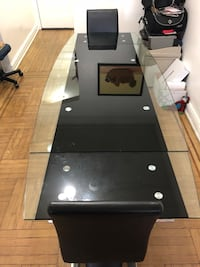 Tempered Glass Dining Table New York, 11372