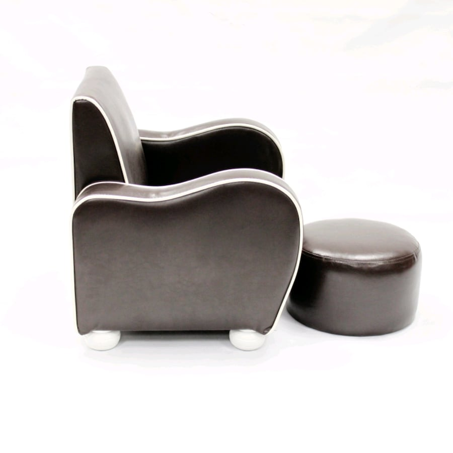 Kids brown chair with ottoman armchair kids room brown lounger decor 7c23f4bd-4999-4147-b7be-4a9d705bca92