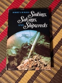 Sinkings, Salvages and Shipwrecks hardcover Toronto, M2M 2A2