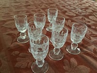 Waterford Colleen liquor glasses Mississauga, L5C 4J4