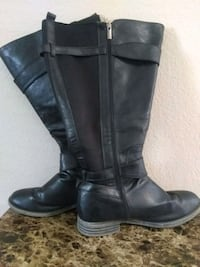 Ladies Maurice's knee-high boots size 9.5 w Oklahoma City, 73120