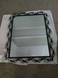One of a kind rectangular mirror w/metal frame Brentwood, 37027