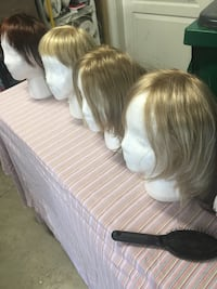 Assorted wigs value over $250 each Stockton, 95209