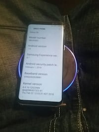 64 gig Samsung galaxy s8 and wireless fast charger Oak Harbor, 98277