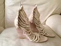 Marco Santi rope sandal wedges shoes