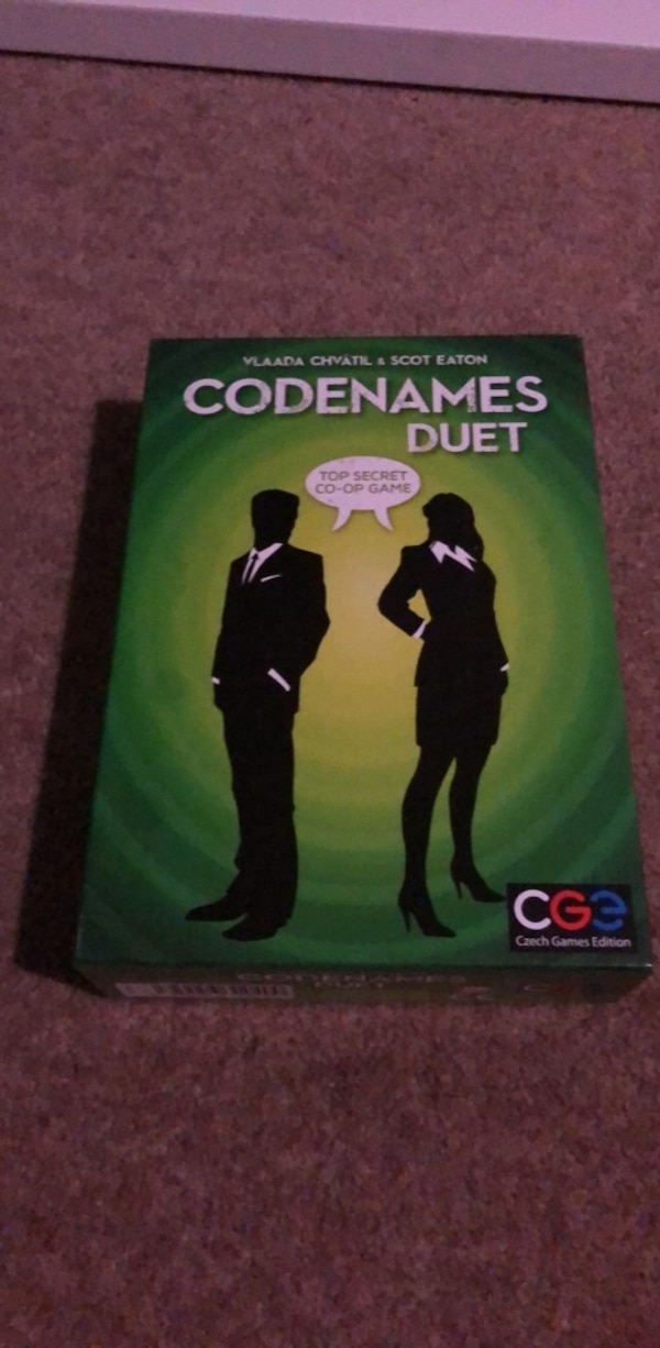 Board game about spies - never used but open