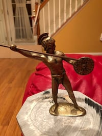 Warrior figurine - from Greece. Pick up in Chantilly. CASH only Chantilly, 20151