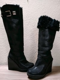 Micheal  Kors leather boots, like new size 6. San Diego, 92117