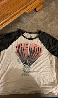 The Who Shirt- American Eagle Size XL Reisterstown, 21136