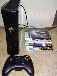 250gb Xbox 360 Elite & Games Ottawa, K2C 1P1