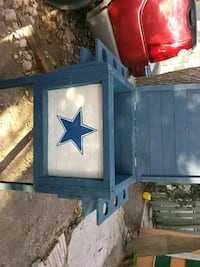 blue and white Dallas Cowboys printed box Brownsville, 78521
