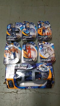 Hasbro,   Fantastic 4 rise of the silver surfer movie action figures The Bronx, 10454