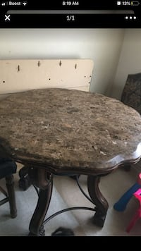 Marble Table no chairs