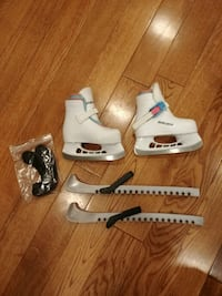 Bauer Girls Skate boots Y13/14 like new.. 20$neg Mississauga, L5M 2M6
