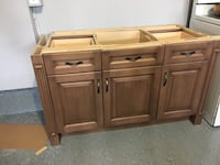 Vanity with granite top good condition solid wood size width 53 3/4 high 31 1/2 deep 21 5/8 $350 obo Brampton, L6V 3B7