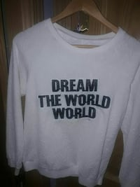 Sudadermanga larga estampado Dream the World world Algete, 28110
