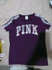 purple VS PINK sparkle t shirt Greeley, 80631