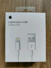 Apple lightning to USB cables (2m) Toronto, M5E 1Z9