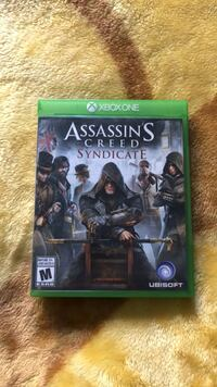 Xbox One Assassin's Creed Syndicate case Surrey, V3S 2V2
