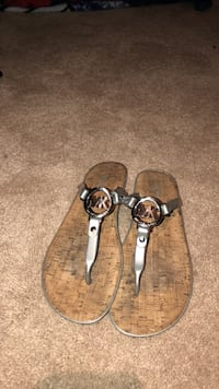 pair of brown leather sandals Columbia, 21045