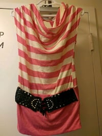 Pink and white striped dress Saint Catharines