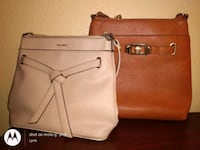 2 crossbody purses one is beige and the  other one is almond Brown  Nashville, 37214