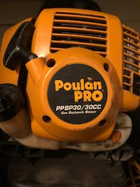 Poulan pro backpack blower  London, N5Y 1A6